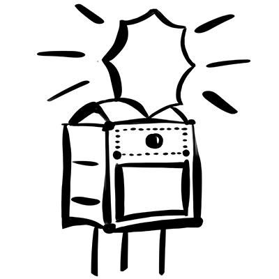 Fotobox Shorty mobile Flashbox